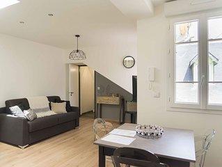 Bagnères-de-Bigorre studio neuf ambiance cosy à 2 pas des thermes...