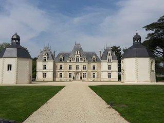 Maison de standing/acces piscines et parc du chateau