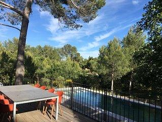 Villa contemporaine entre Aix-en-Provence et Luberon