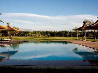 Superbe villa luxe 450 m2 sur 1 ha avec piscine proximite de marrakech