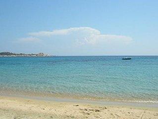 Dans la baie de Tradicettu à 700m de la plage,site paradisiaque,calme