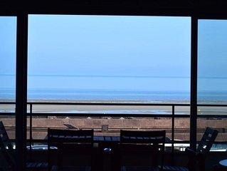 Agréable et spacieux studio avec vue mer 'Le Président', pour 4 personnes