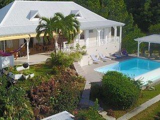 Villa l'Amazonia 5*, location villa luxe a Deshaies en Guadeloupe: