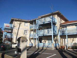 Appartement pour 4 personnes au centre-ville de Capbreton