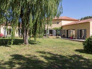 Villa de charme avec piscine à 10 minutes d'Aix en Provence