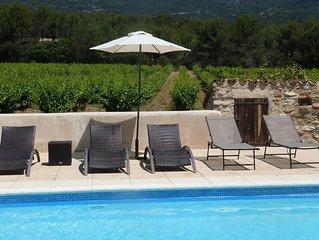 Grande maison au pied du Luberon à côté de Lourmarin avec piscine