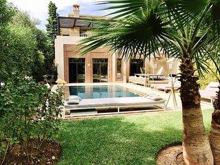 Villa golfique luxueuse
