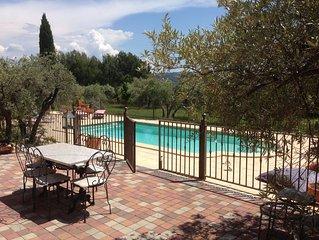 Maison 180m2 avec piscine sur 3500 m2 dans une oliveraie