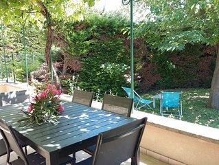 Gite 6 personnes dans un domaine viticole - Avec accès piscine