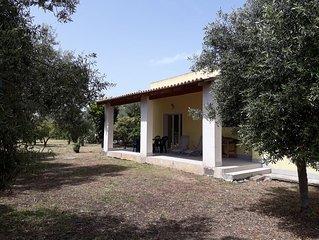 Villa Nora, villa au calme situee a 5 minutes de la mer et du village de Brucoli