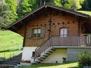 CHALET rénové situé à THONES  entre les stations ARAVIS et le lac d'Annecy