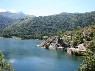 Magnifique maison 3 etoiles surplombant le lac de Loudenvielle