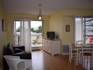 Appartement rénové situé plage de Trestraou à PERROS-GUIREC