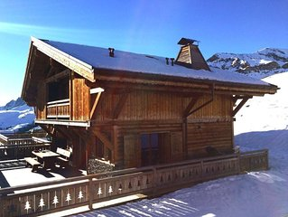 Magnifique chalet recent, tres confortable, ski IN&OUT avec vue exceptionnelle