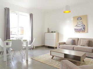 Appartement 1 ch avec ascenseur et Parking (Promenade Sainte Catherine)