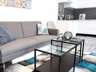 Trankil'Appart Centre, Appartement 3 couchages, 55 m2_Ref TR18