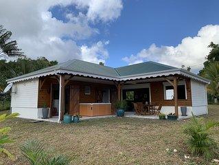 Villa creole avec Jacuzzi