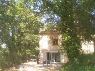 Appartement dans villa entre uzege et les cevennes