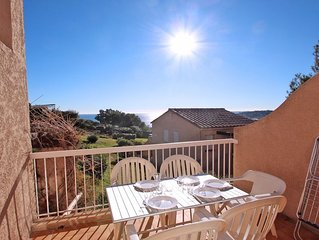 Appartement T2 cabine - 4/5 personnes - Vue mer - Wifi - Piscine residence - Sai