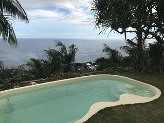 Villa à Petite Ile  vue mer
