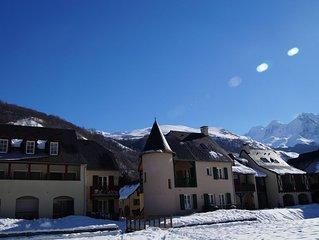 LOUDENVIELLE agreable appartement chaleureux et lumineux au centre du village
