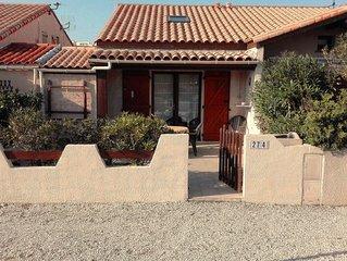Barcares maison tout confort terrasse et Wifi