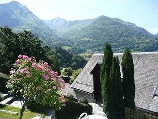 Maison independante-Vue dominante sur la vallee (location saisonniere)