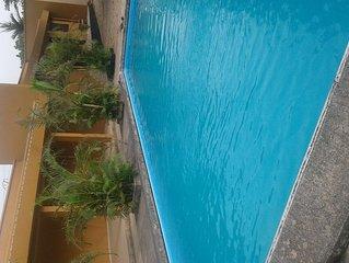 Maisonnette de vacances pour 4 personnes dans residence avec piscine