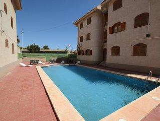 Appartement 5 pers 70m² dans résidence avec piscine, à 5 mn plages/animations
