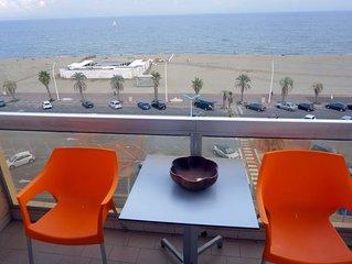 Superbe F3 standing front de mer à 180° , sur la plage+parking , Top situation