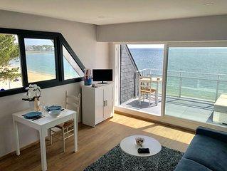 Appartement vacances T2 vue imprenable sur la plage