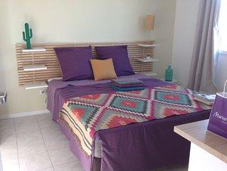 1 chambre située à l'étage de la maison PROPRIETE PROPOSEE AUX NATURISTES !!