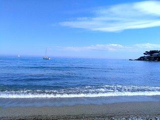 Appartement de charme, au bord de mer et à 10 mn de Bastia