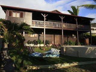 Villa avec piscine et vue mer en centre ville