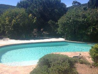 Villa avec piscine  agreable Confortable Proche mer , Saint Tropez et st Raphael
