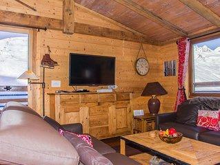 Duplex luxe wi-fi à Tignes Val Claret comme dans un chalet