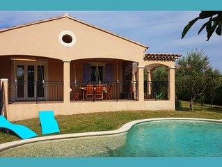 Villa avec piscine privée, au calme et sans vis-à-vis proche d'Avignon