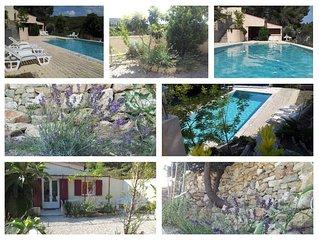 Maison  Aurons en Provence avec piscine et jardin