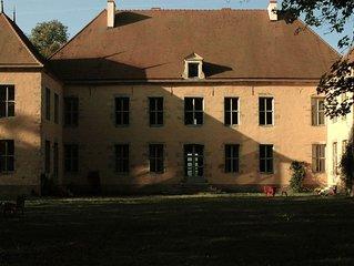 Grand Château en Bourgogne