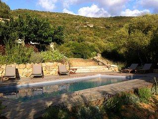 VILLA SPACIEUSE/grande piscine, proche plages, 3 ou 6 ch - INDISPONIBLE en AOUT