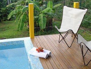 Case créole de charme avec piscine