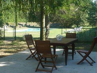 Villa au calme dans la campagne provencale avec piscine