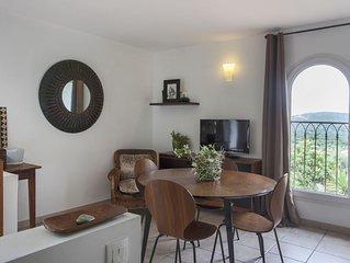 Casa Francesca, studio climatisé entre mer et montagne