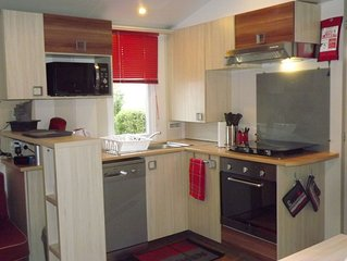 Location Mobil-home 6/8 personnes camping 4 étoiles