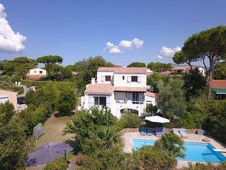 Villa  PORTICCIO avec piscine dans son jardin paysager