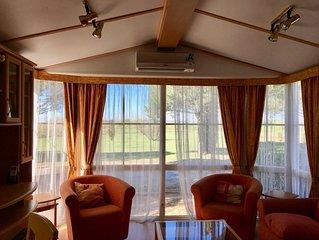 Mobil Home Pano, 2 chambres, 42 m2, 2 terr, climat., piscines avec toboggansi