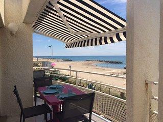 'PARADIS SUR MER' T3 front de mer accès direct plage