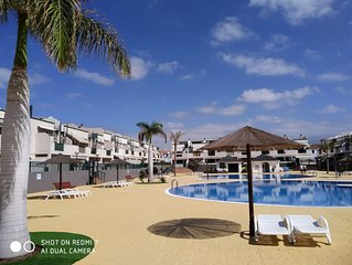 Location Ténérife Sud Costa del silencio app 4 pers  wi-fi gratuit 2 terrasses