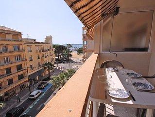Appartement T3 - 4/6 personnes - Apercu mer - Climatisation - WiFi - Centre vill