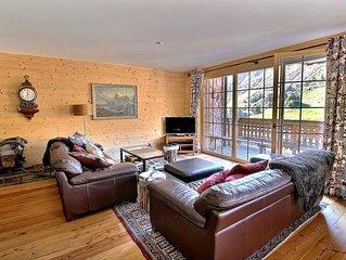 Très bel appartement avec 3 chambres, 2 salles de bain, wifi et place de parc, t